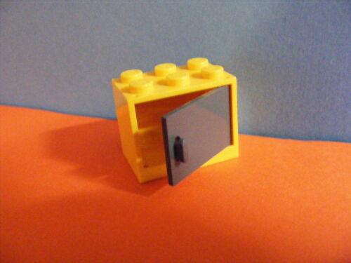 2 x 3 x 2 Mit Türe Gelb//DkStone Lego--4532//4533- Schrank,Container,Box-