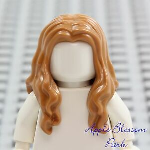 New Lego Girl Minifig Long Light Brown Hair Pirate