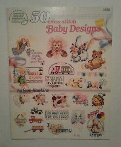 American-School-of-Needlework-50-Cross-Stitch-Baby-Designs-1990