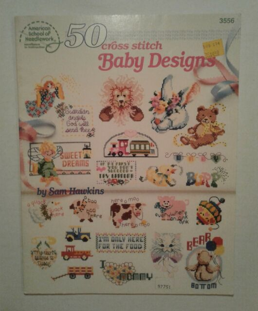 American School of Needlework 50 Cross Stitch Baby Designs 1990