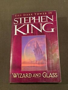 Stephen-King-The-Dark-Towner-IV-Wizard-and-Glass-Softback-Book-1997-1st-Ed-1st-P