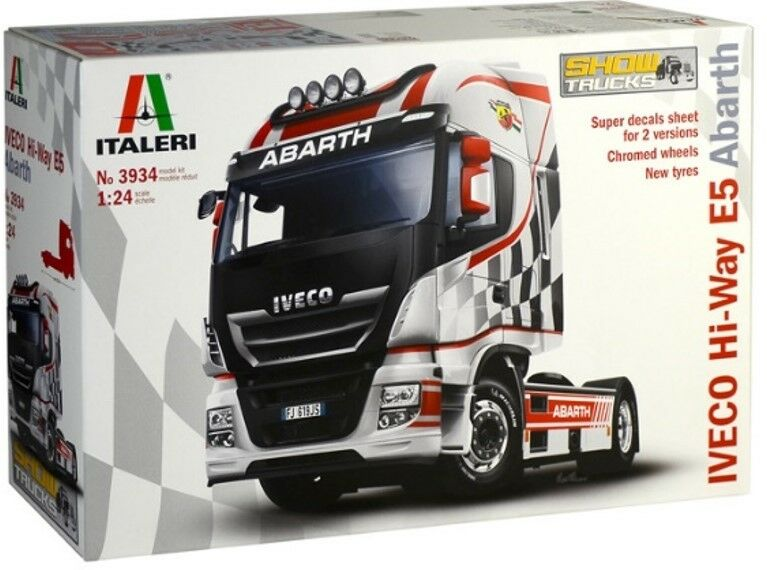 Iveco E5 Hi-Way  Abarth  ITALERI 1 24 IT3934