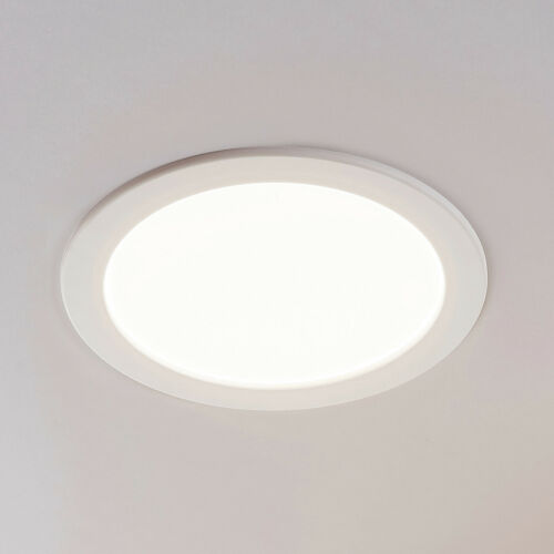 LED-Einbauleuchte Joki Arcchio Downlight IP44 weiß rund 3.000 K 18W
