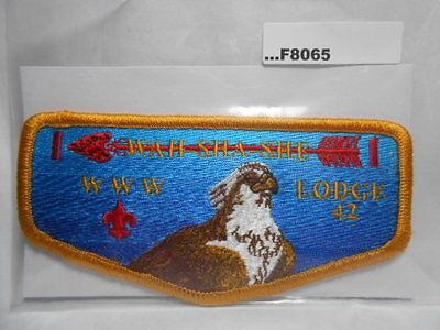 OA Lodge 42 Wah-Sha-She S4 Brotherhood Flap