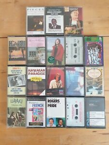 audio music cassette tapes bundle joblot x 18 as pictured mct22