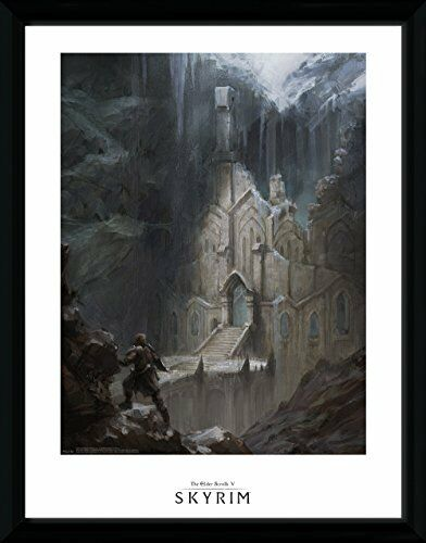 Skyrim Elf Temple Collector Print 30 x 40 cm