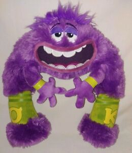 Nwt Disney Pixar Monsters University Oozma Kappa Plush Doll Art Ebay