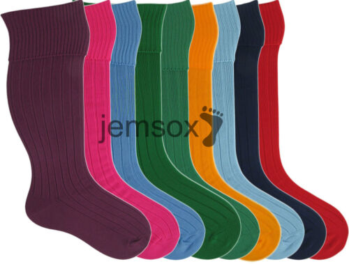 4 Pairs UK Made FootballRugby Socks 12.53.547611