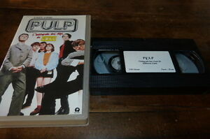 Pulp-K7-Video-Promocion-French-Promocion-Video-Tape-Different-Class-Clips