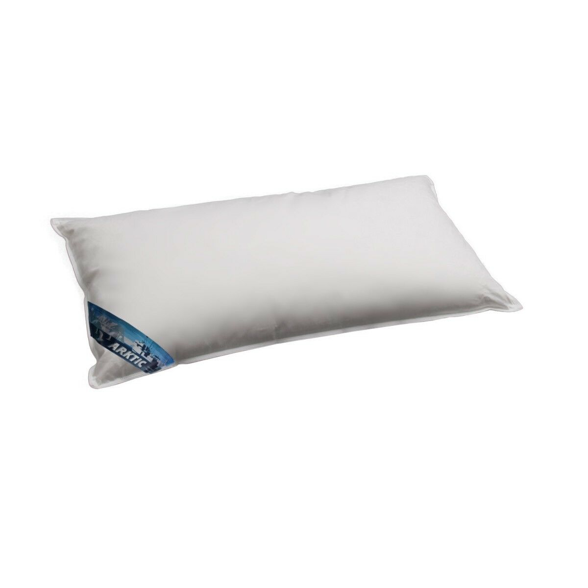 ARKTIC Daunenkissen arktischer Daunenflaum 100 % Daunen 40x80 cm Weißh NEU