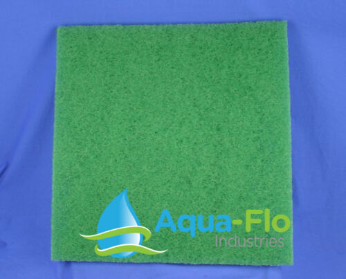 "Aqua-Flo 2-PK Green Pond Filter Mat//Media//Pad 24/""x24/"" skimmer-fish-koi 2ft x 2ft"