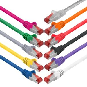 CAT6-DSL-Patchkabel-Netzwerkkabel-Netzwerk-LAN-Kabel-SFTP-geschirmt-RJ45-Stecker