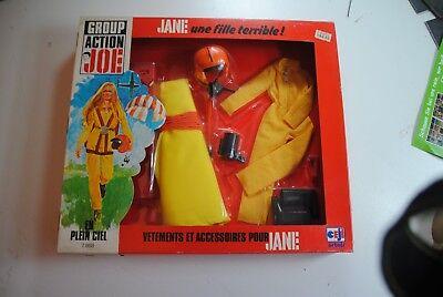 GI Joe Weapon MAIL AWAY PARACHUTE PACK Backpack 1985 Original Figure Accessory