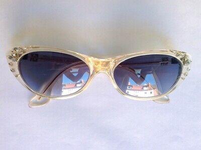 Emmanuelle Khanh Sunglasses   Handmade In Paris   Cat-eye   Strass   80er Exquisite Handwerkskunst;