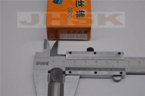 (1pcs) 18mm x 0.5 Metric Machine Tap M18 x 0.5 mm superior quality (S)