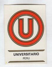 figurina PANINI FOOTBALL CLUBS NUMERO 225 UNIVERSITARIO