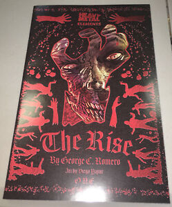 The Rise #1 GEORGE ROMERO HEAVY METAL Night Living Dead PREQUEL 2021