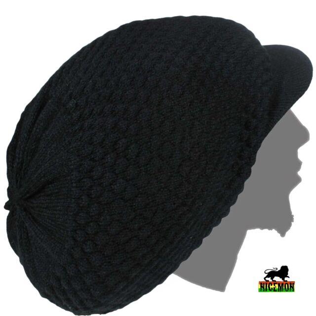 4f150be9695 Rasta Natty Dread Dreadlocks Cap Hat Hippie Irie Reggae Marley Jamaica XL  to XXL