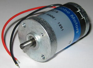 Globe motors 405a 12v dc motor 5000 rpm im 13 short for Low rpm electric motor for rotisserie