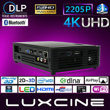 Ultra HD 1920*2005p Luxcine Z4000 DLP Projector Blu-ray Full 3D Android WIFI