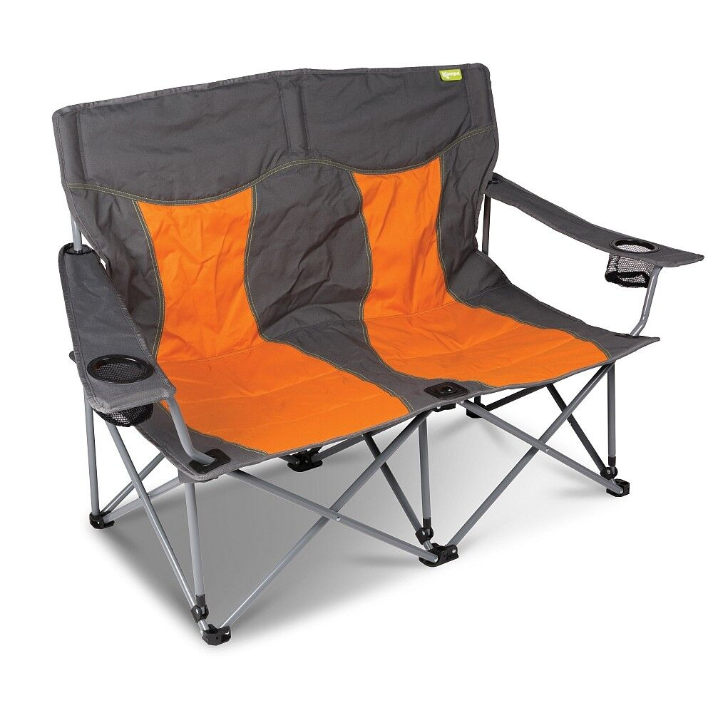 Kampa Lofa-Canapé 2 places style Chaise de camping-Orange
