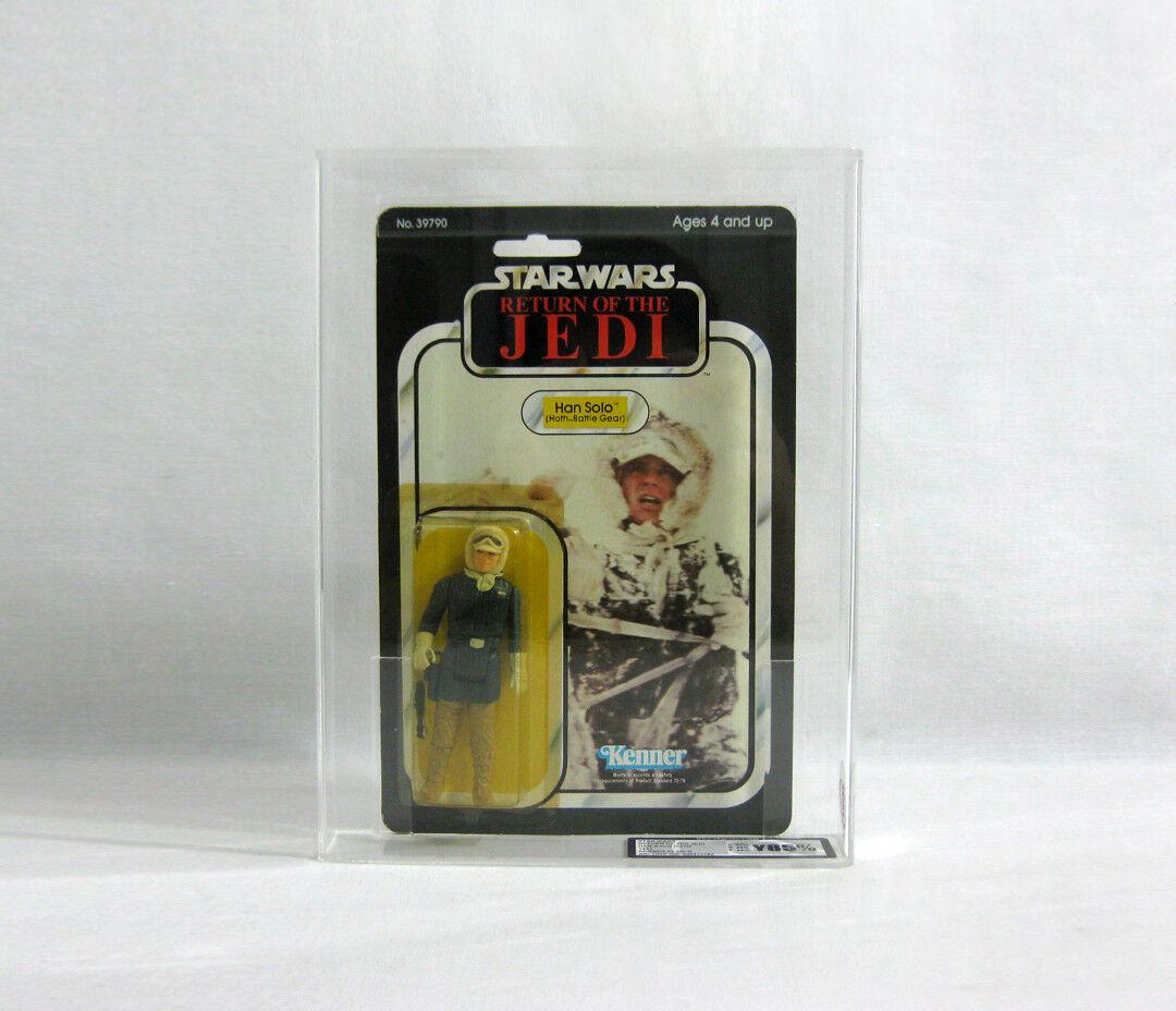 NEW 1983 1983 1983 Vintage Star Wars ✧ Han Solo ✧ Hoth Kenner 65 BK UKG 80 85 85 AFA V120 5ab9af