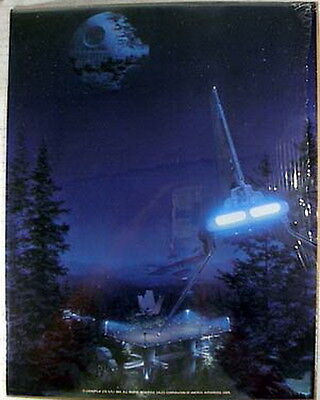 Original Vintage 1983 Star Wars ROJ Luke Collage 11x14 Art Print #5 MOUNTED