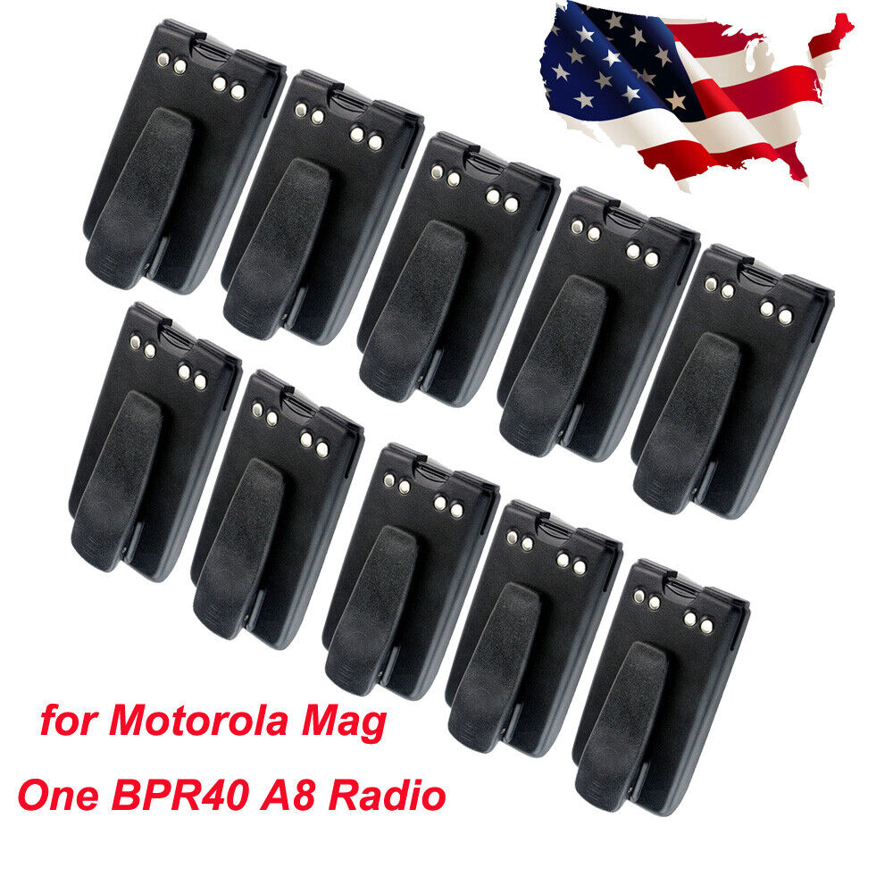 1500mAh Ni-MH Battery Pack+Belt Clip for Motorola Mag One BPR40 A8 Radio US