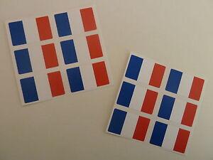 Mini-Pack-Autocollant-auto-adhesif-France-Drapeau-etiquettes-FR10