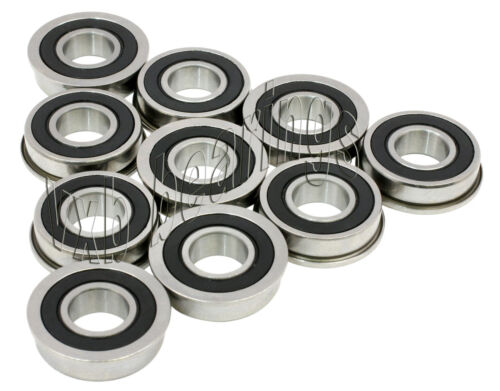 10 Flanged Bearing F686 6*13 mm Metric Ball Bearings