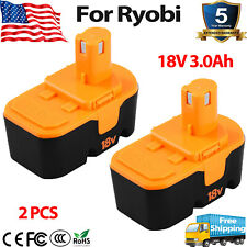 Replace for Ryobi ONE PLUS 18 Volt 2.0//3.0//3.6Ah Battery P100 13022 ABP1801 18V