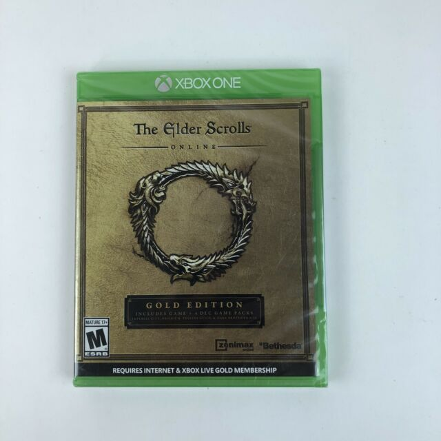 Elder Scrolls Online: Gold Edition (Microsoft Xbox One, 2016) Brand New Sealed