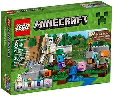 LEGO Minecraft - 21123 The Irongolem / Der Eisengolem mit Alex - Neu & OVP