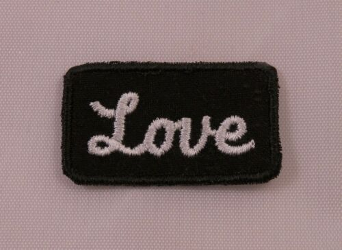 Embroidered Power Words Motivation Love Boho Patch Jacket Applique Iron On USA