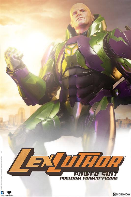 Lex Luthor Luthor Luthor Power Suit Premium Format Figure Statue SIDESHOW TOYS 492221