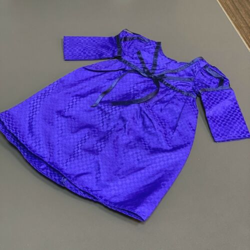 """2x Blue Princess Dress Outfit /& Sunglasses For 18/"""" American Girl Doll Accessory"""