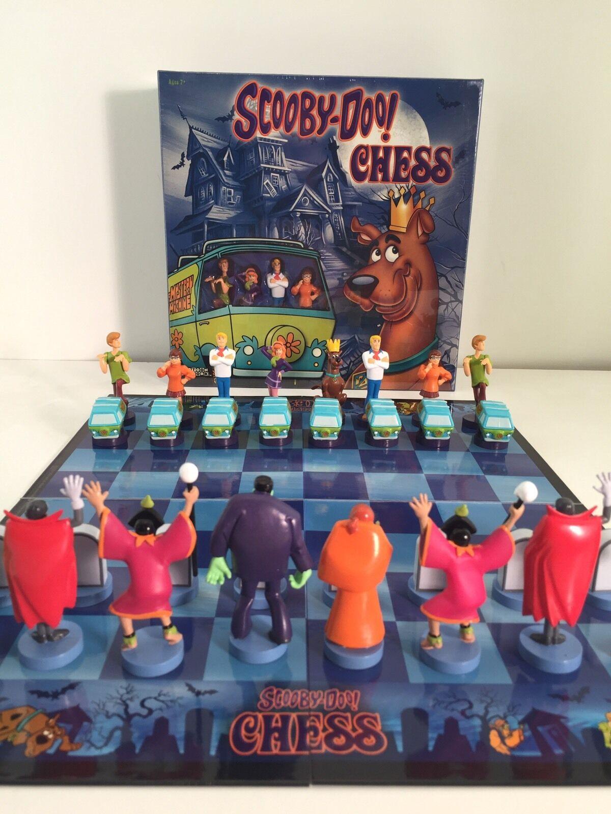Scooby-Doo chess set (6) jeu de lots. RARE, NEUF, & sealed