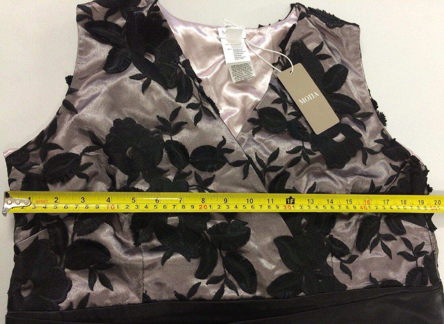 B237MONA LACE DRESS DRESS DRESS Size UK18 RRP 2551f4