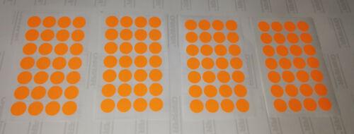 Klebepunkte 18mm 112Stk Haftetiketten selbstklebende Punkte Aufkleber gelb rot