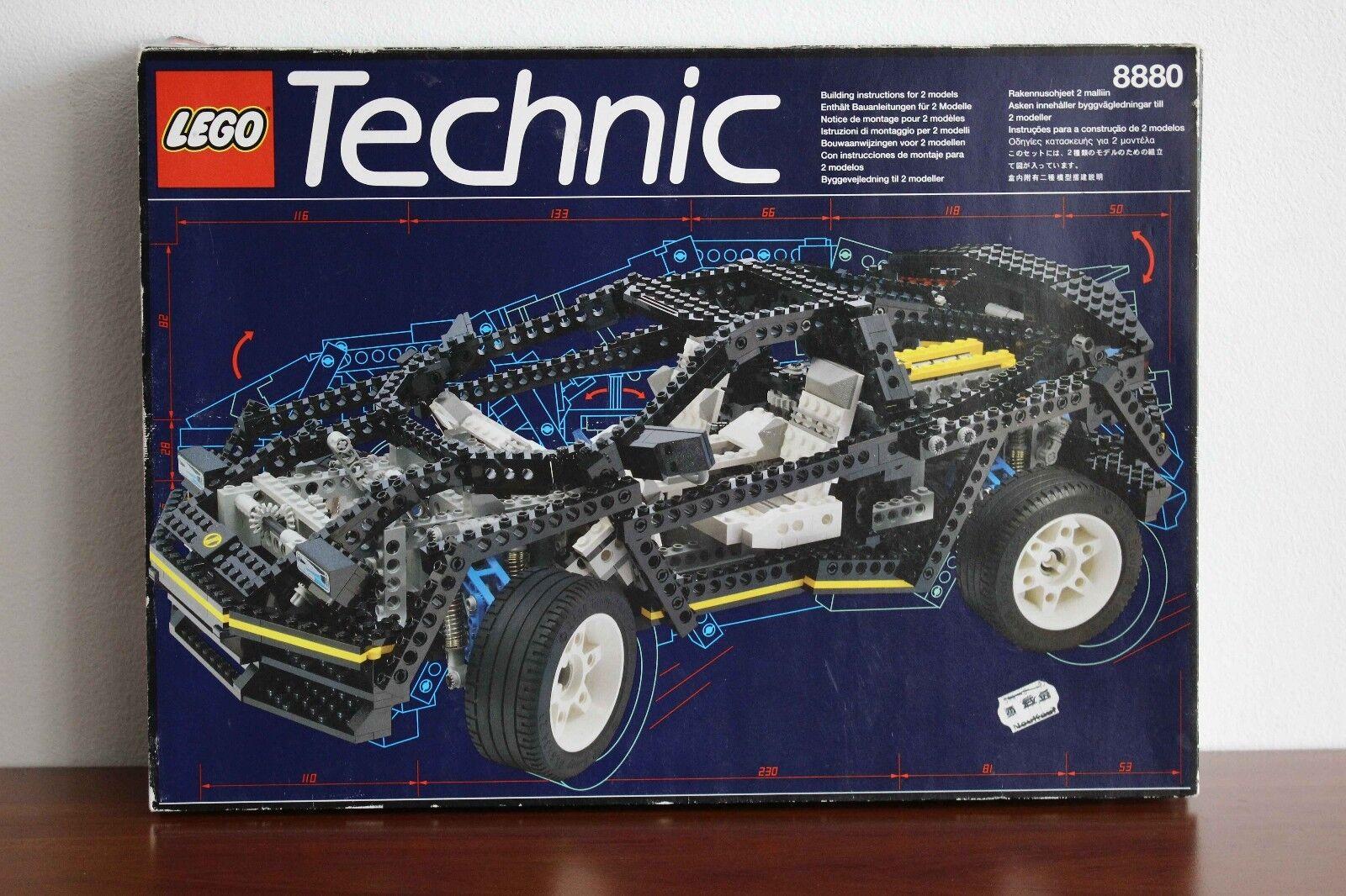 Lego Technic Model Traffic Set 8880-1 Super Super Super Car 100% complete + box f54230
