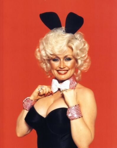 DOLLY PARTON 8x10 8 x 10 PICTURE PHOTOGRAPH AS PLAYBOY BUNNY