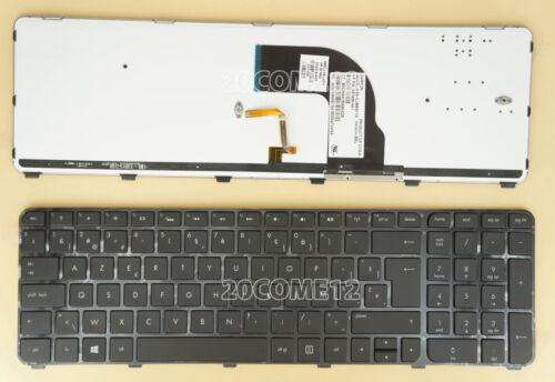 NEW For HP dv7-7250sb dv7-7260eb dv7-7260sb Keyboard Backlit Belgian Clavier