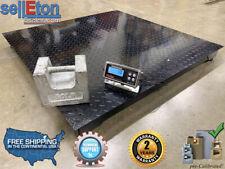 Floor Scaleheavy Duty Platform 48x48 10000 Lb By 05 Lb Accuracy