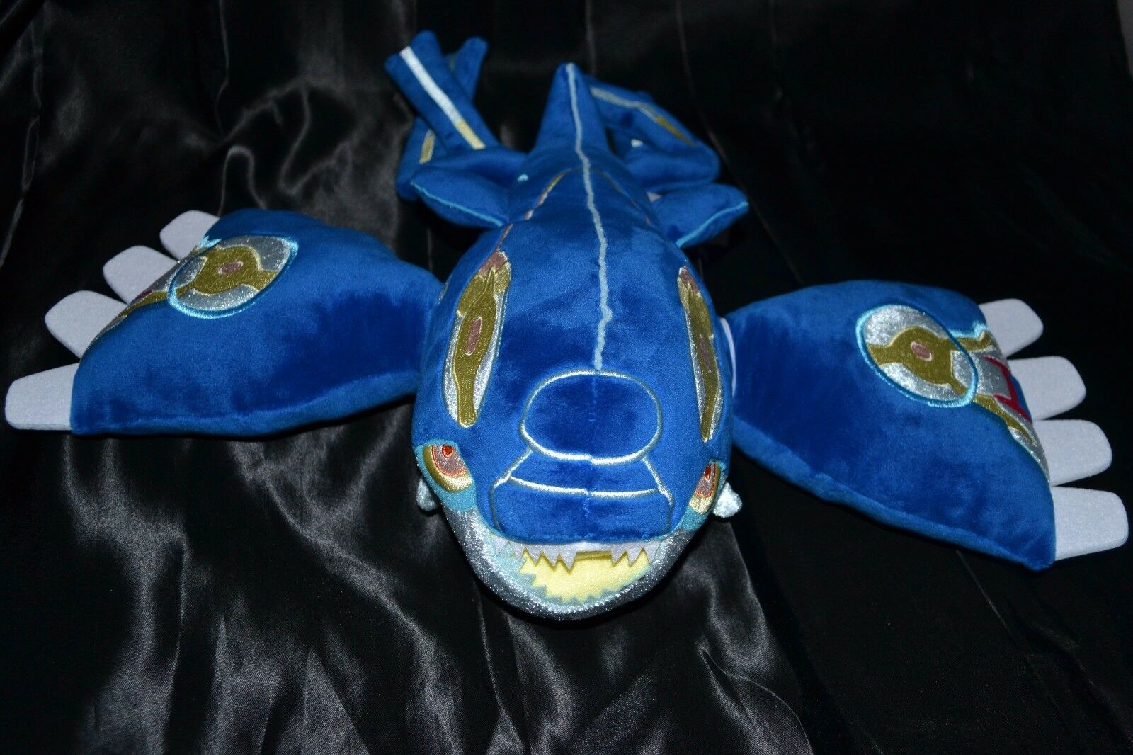 15.5  Mega Primal Kyogre Poke Plush (Large Size) - Official Pokemon Center Toys