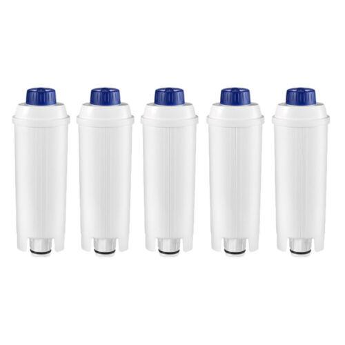 5x  Wasserfilter für DeLonghi EC680.R EC685 EC685.M BCO400 BCO410 BCO420