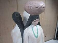 "Austin Prod Inc Beautiful Statue of Art Sculpture Native American Indians XL 23"""