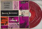 45TRS VINYL 7''/ ULTRA RARE AMERICAN EP BENNY STRICKLER / JAZZ / RED VINYL