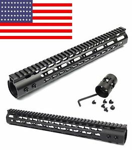 13-5-034-15-inch-Free-Float-Keymod-Handguard-Rail-for-Ruger-Rifle-Scope-Bolt-Action