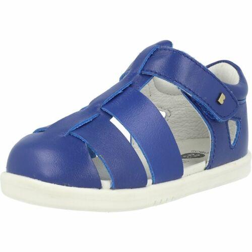 Bobux i-Walk Tidal Blueberry Leather Infant Fisherman Sandals