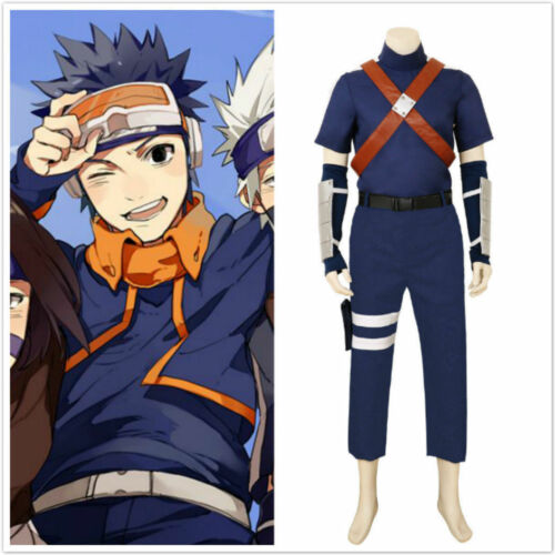 Details about  /Halloween Anime Hatake Kakashi Cosplay Costume Deluxe Custom Made{D00Y}
